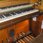 Close up of Church organ 2011