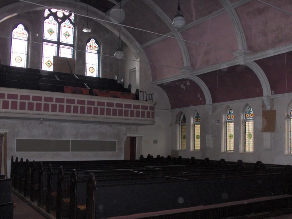 Church interior 2011