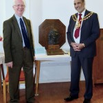 Rev. John Piper with the Mayor of Oldham